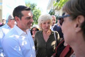 Τσίπρας στην Ακράτα: Παραλάβαμε τη χώρα στην πιο δύσκολη στιγμή της σύγχρονης ιστορίας της