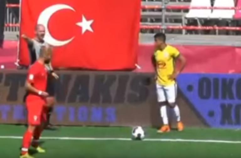 """Απίστευτες προκλήσεις από Τούρκο ποδοσφαιριστή στην Κρήτη! """"Θα υπάρξει και πάλι θάνατος"""" [pic]"""