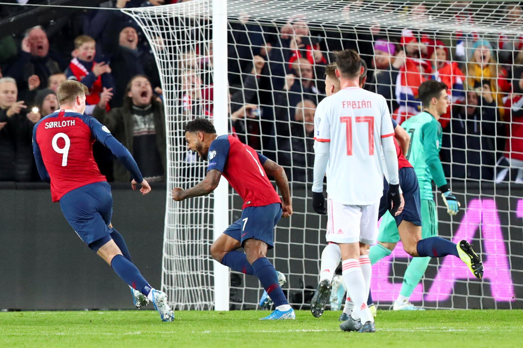 """Προκριματικά Euro 2020: Η Νορβηγία """"σταμάτησε"""" την Ισπανία! Αποτελέσματα και βαθμολογίες – videos"""