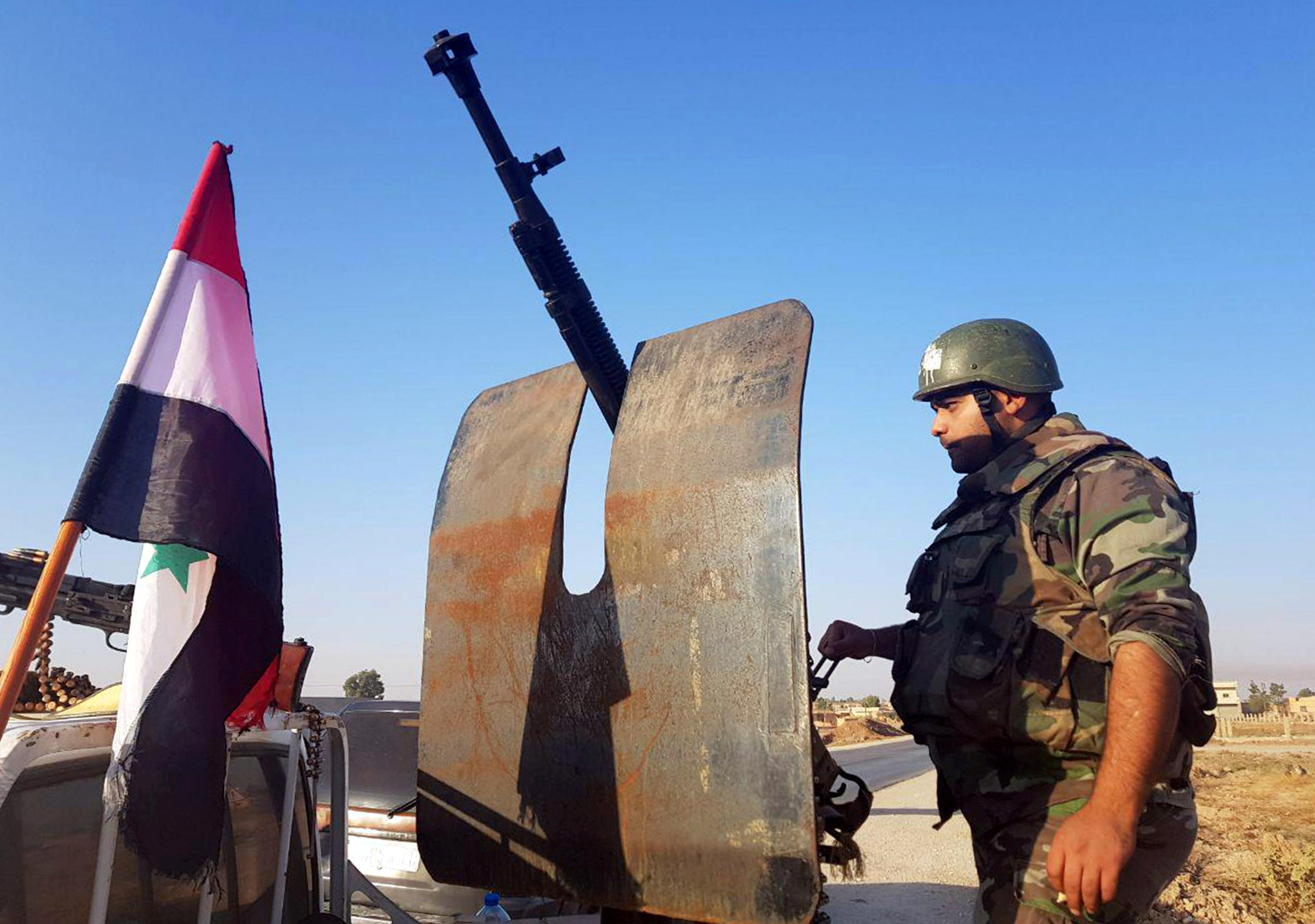 Συρία: Ο συριακός στρατός μπήκε στο Κομπάνι