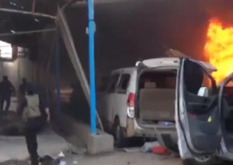 Συρία: Φρίκη στην Ρας αλ-Άιν – Η στιγμή που η Τουρκική αεροπορία χτυπά αμάχους – video