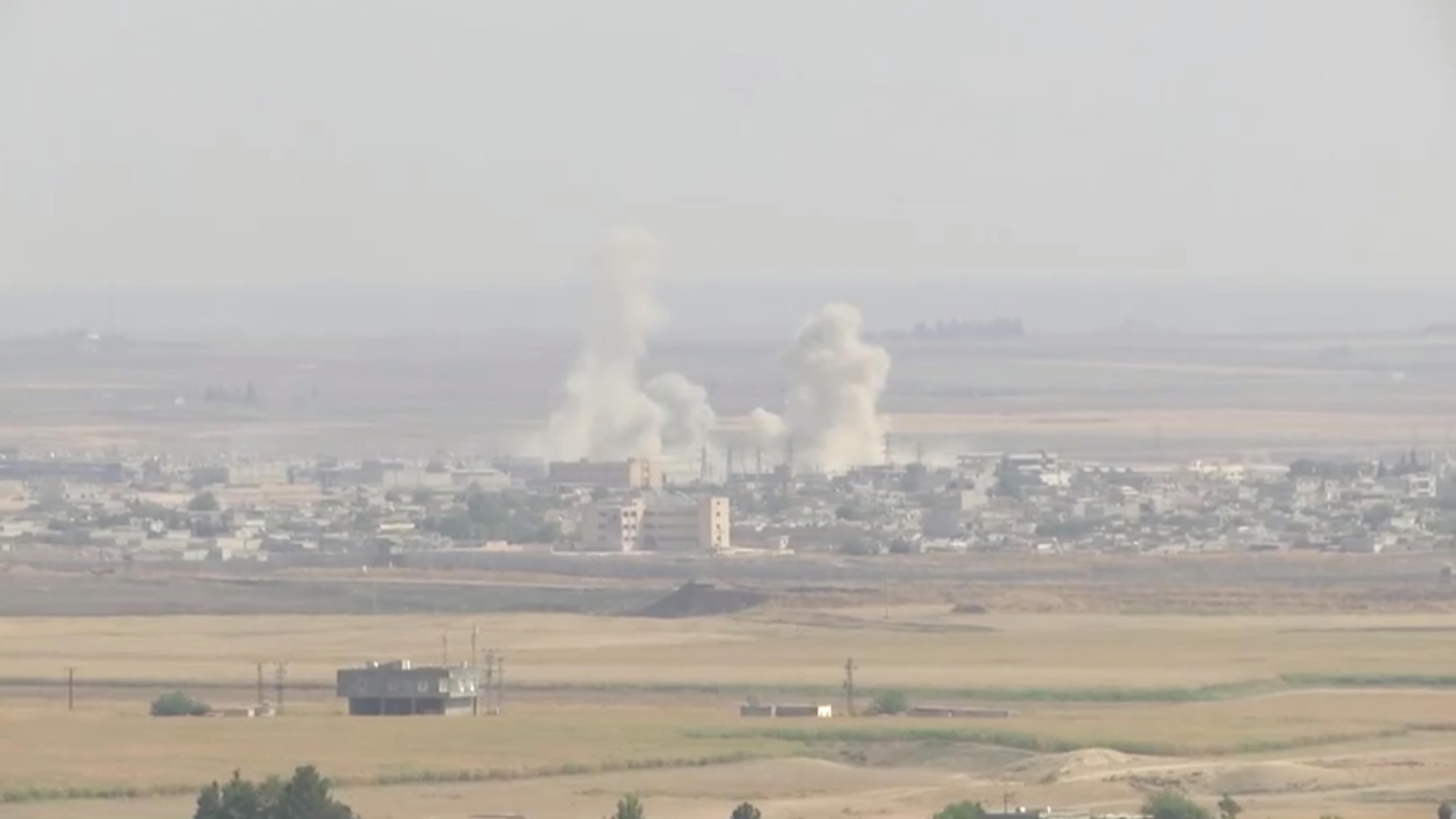 Συρία: 100.000 άνθρωποι έχουν εγκαταλείψει τα σπίτια τους μετά την τουρκική εισβολή