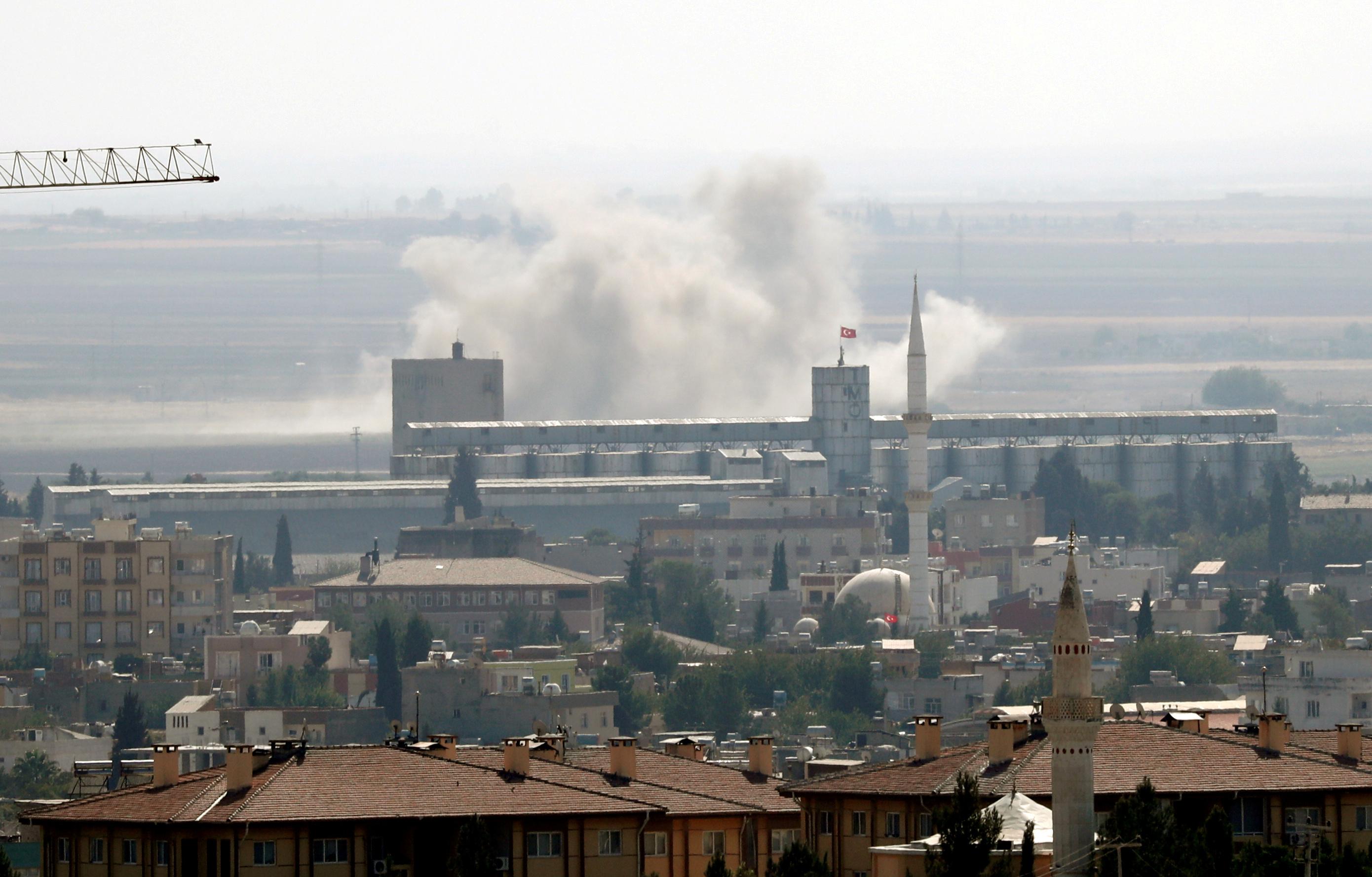 Υπό τον έλεγχο του τουρκικού στρατού η πόλη Ρας αλ-Αιν!  Οι Κούρδοι ανακοίνωσαν την αποχώρησή τους