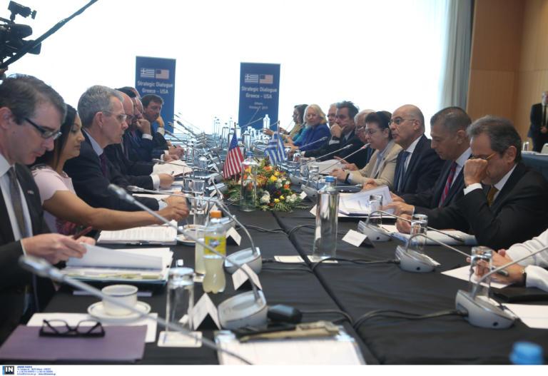Ολοκληρώθηκαν οι εργασίες του Στρατηγικού Διαλόγου Ελλάδας – ΗΠΑ