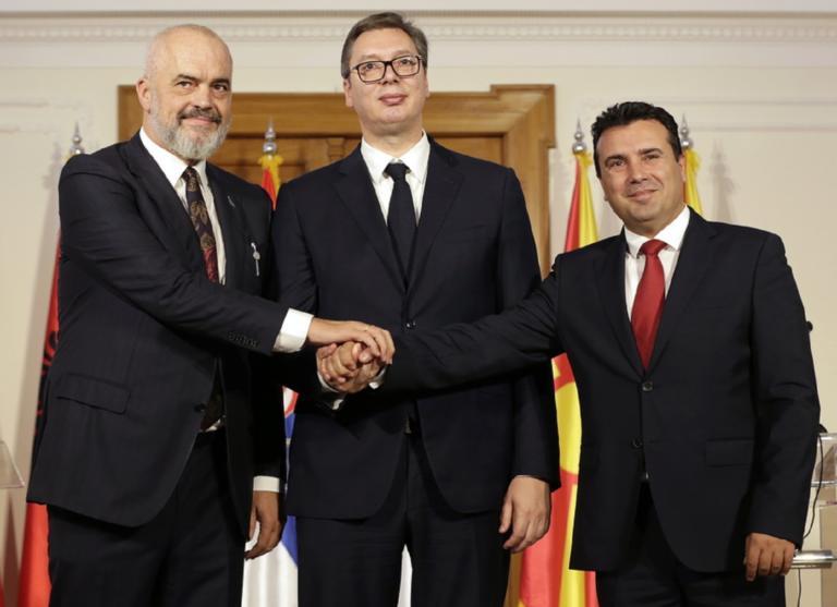 """Μια """"μικρή Σέγκεν"""" στα Βαλκάνια! Τι συμφώνησαν Σερβία, Αλβανία, Βόρεια Μακεδονία"""