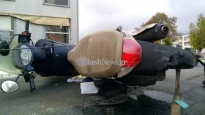 Κρήτη: Σκηνές φρίκης στην άσφαλτο – Σκοτώθηκε ο οδηγός της μηχανής και ακρωτηριάστηκε ο φίλος του [pics]