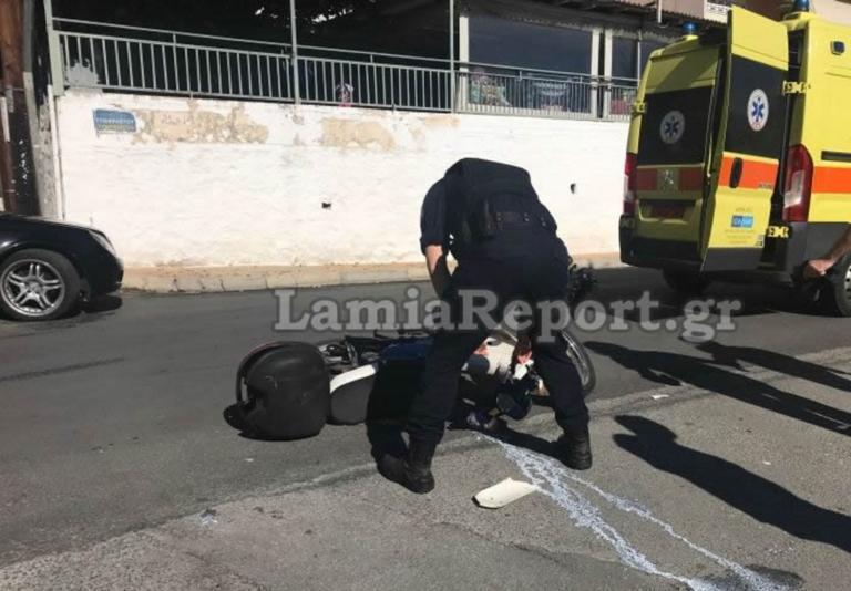 Λαμία: Τραυματίστηκε οδηγός μηχανής σε νέο τροχαίο – Το κράνος τον έσωσε από τα χειρότερα!