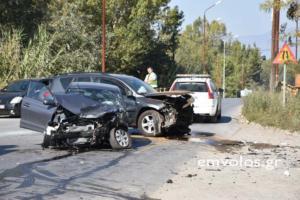 Μια νεκρή και έξι τραυματίες σε τροχαίο στα Γιαννιτσά [pics, video]