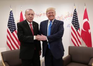 """""""Εξάψαλμος"""" Ερντογάν σε Τραμπ για την Συρία λίγο πριν την συνάντηση"""