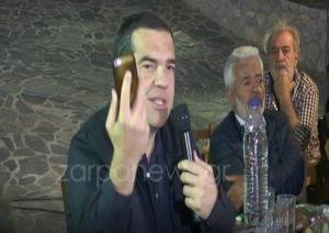 Χανιά: Ο Τσίπρας, το μαραφέτι του Πολάκη και ο… Άη ΣΥΡΙΖΑ – Τα αστεία του πρώην πρωθυπουργού!