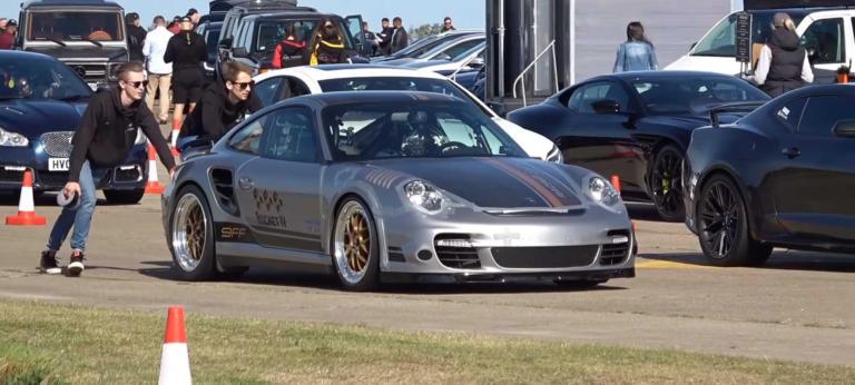 Κατάφερε να πιάσει 365 km/h με την Porsche, αλλά όχι και να… φρενάρει!!! [vid]