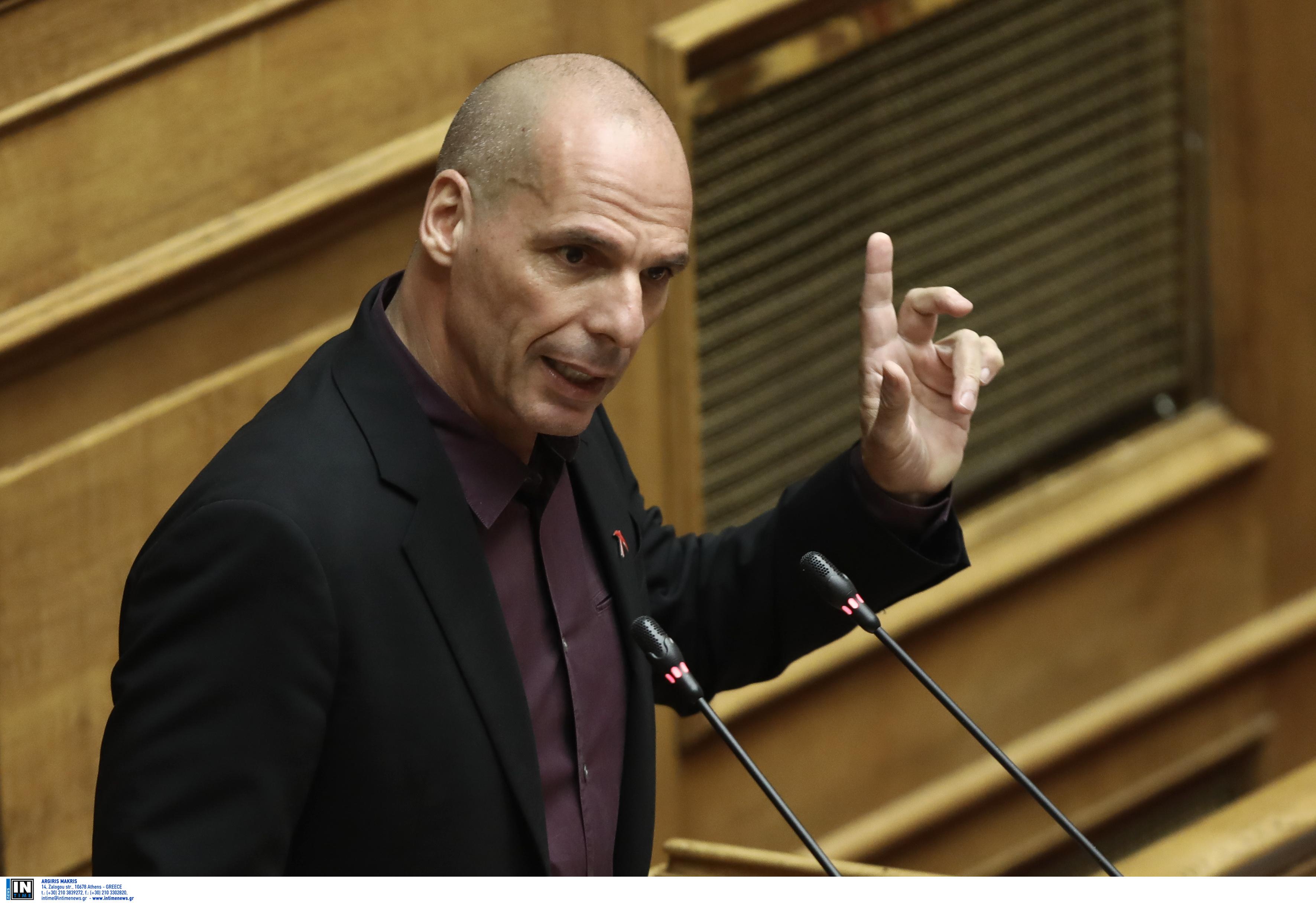 Βαρουφάκης: Η Βουλή μετατρέπεται σε ένα άθλιο υποκατάστατο της εισαγγελικής αρχής
