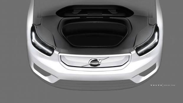 Πρώτες εικόνες του ηλεκτρικού Volvo XC40 [vid]