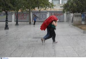 Καιρός: Έκτακτο δελτίο από την ΕΜΥ – Κακοκαιρία με καταιγίδες και χαλάζι