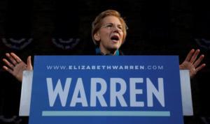 """ΗΠΑ: """"Φαβορί"""" η Γουόρεν για το χρίσμα των Δημοκρατικών"""