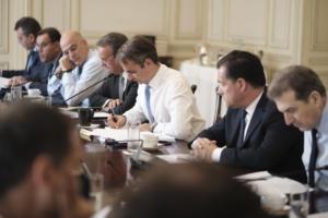 Υπουργικό Συμβούλιο με «γεμάτη» ατζέντα – Στη Βουλή για το άσυλο ο Μητσοτάκης