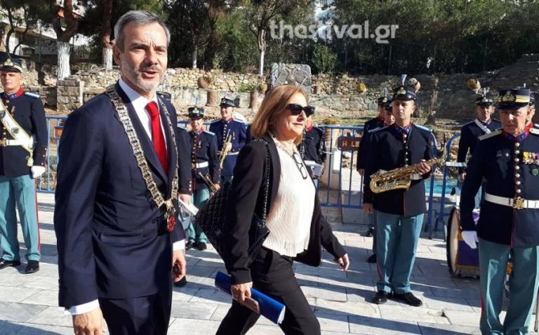 Θεσσαλονίκη: Με το Διάσημο στον Άγιο Δημήτριο ο Κωνσταντίνος Ζέρβας