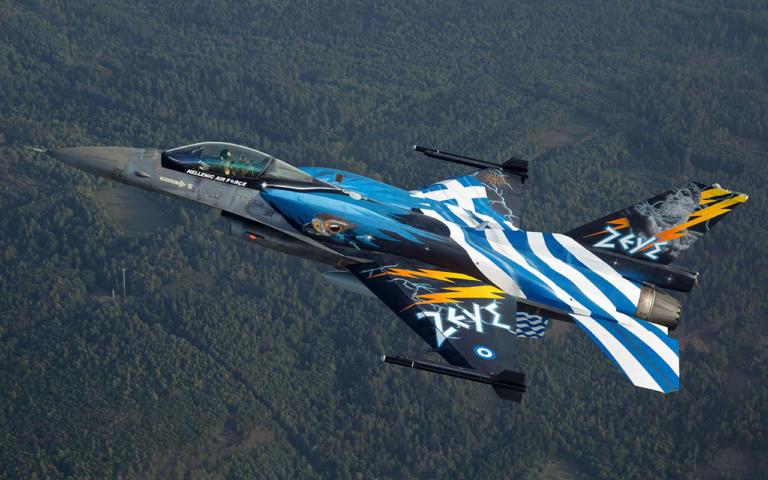Γι' αυτό μαχητικά F-16 της Αεροπορίας θα πετάξουν πάνω από τη Θεσσαλονίκη!