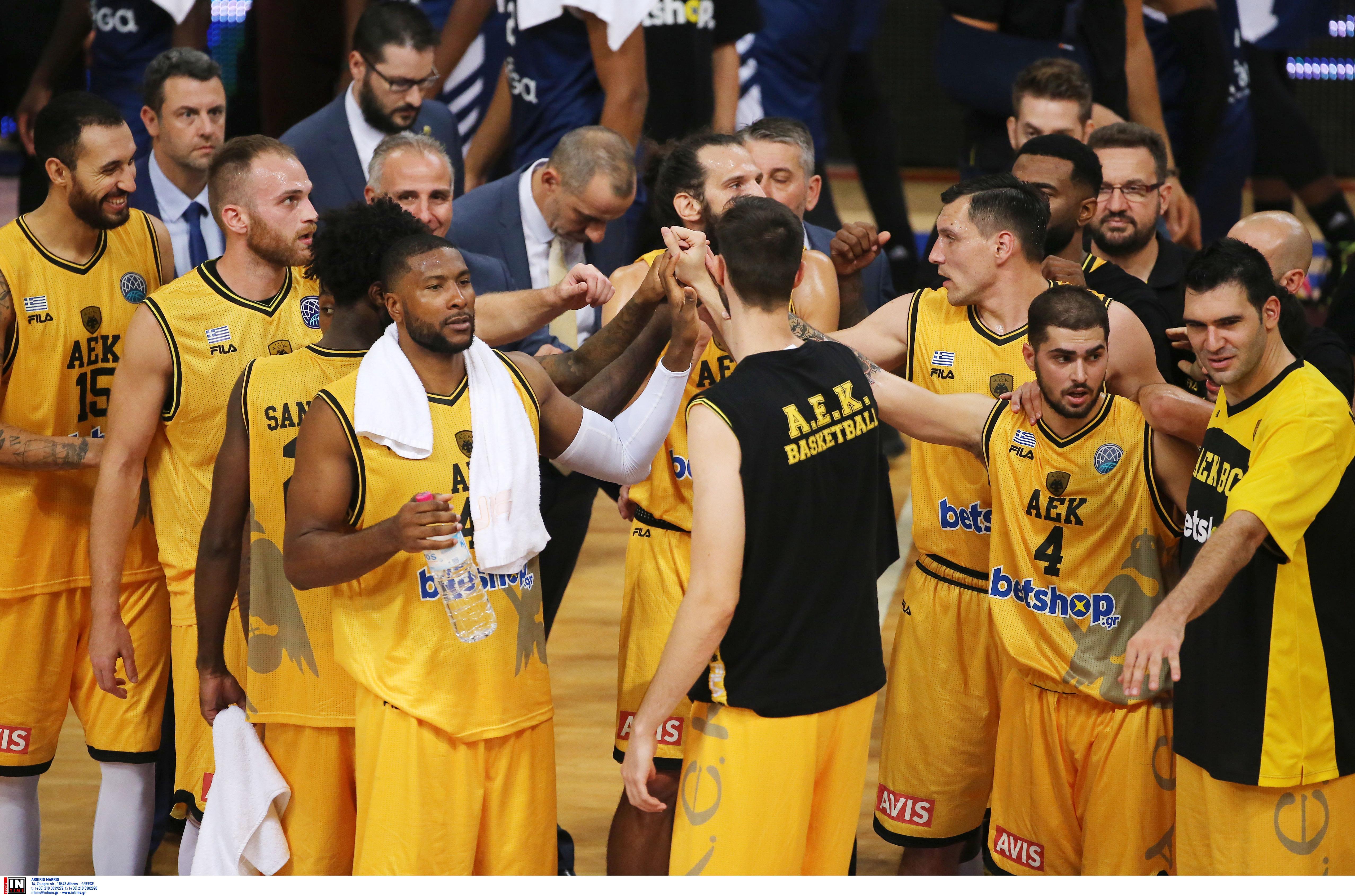 """ΑΕΚ – """"Φαβορί για το Basketball Champions League!"""""""
