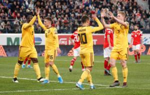 """Προκριματικά Euro 2020: """"Ντόρτια"""" και 9Χ9 το Βέλγιο – Σκωτσέζικο… ντουζ για την Κύπρο – videos"""