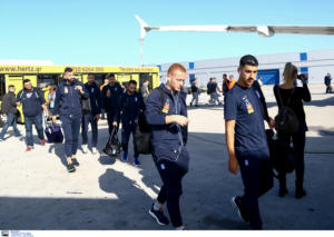 """Εθνική Ελλάδας: Αναχώρησε για το Ερεβάν η """"Γαλανόλευκη"""" – pics"""