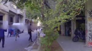 Βίντεο από την επίθεση σε διμοιρία των ΜΑΤ μετά την εκκένωση κατάληψης