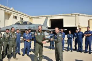 Ο Αρχηγός της Πολεμικής Αεροπορίας, Αντιπτέραρχος Γεώργιος Μπλιούμης επισκέφθηκε το Ισρήλ [pics]