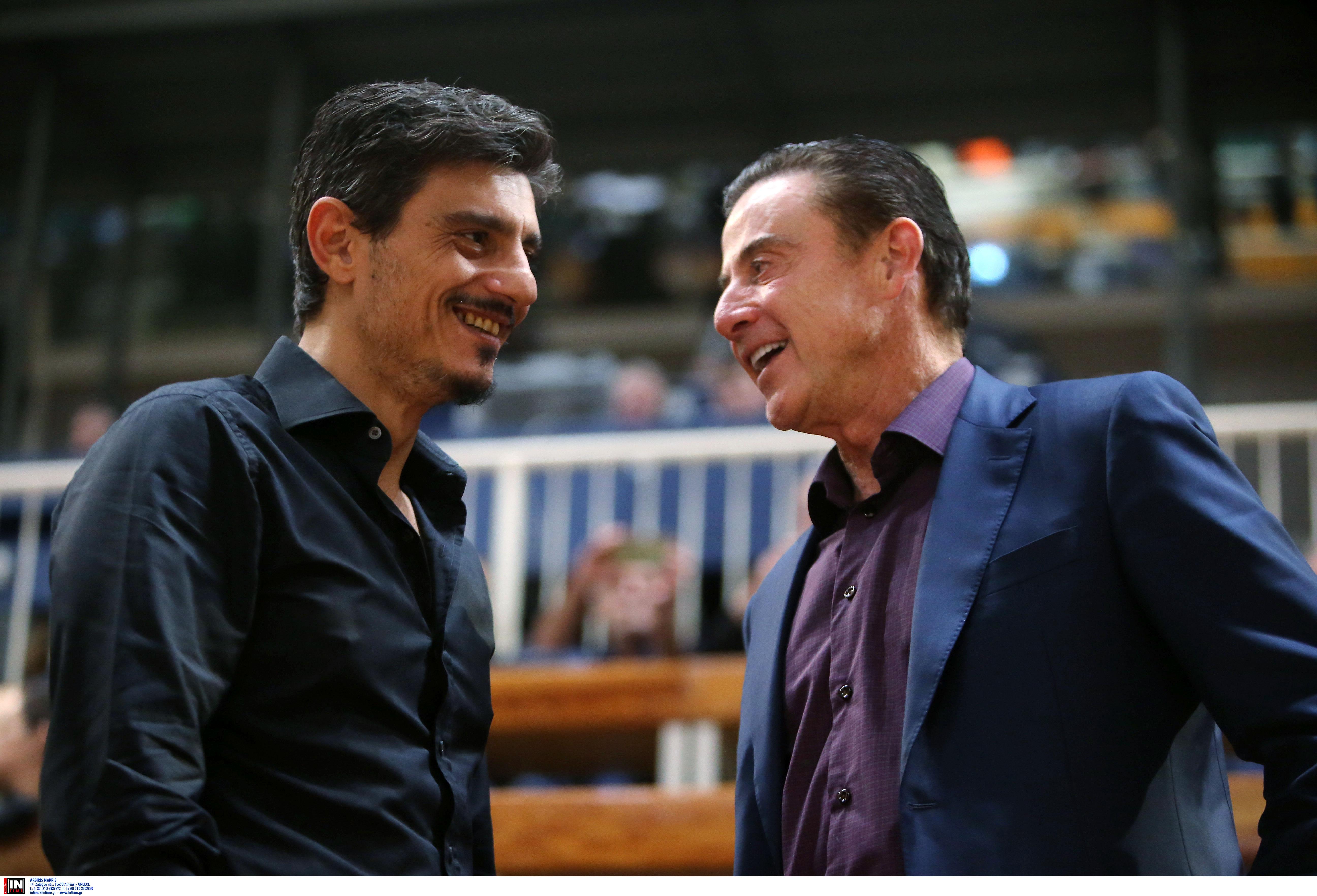 """Παναθηναϊκός: Στην προπόνηση ο Γιαννακόπουλος! """"Καλωσόρισε"""" τον Πιτίνο"""