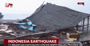Ισχυρότατος σεισμός συγκλόνισε την Ινδονησία – Σοκαριστικές εικόνες! video