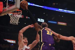"""NBA: Λεμπρόν Τζέιμς και Ντέιβις """"οδηγούν"""" τους Λέικερς! Όλα τα αποτελέσματα – video"""