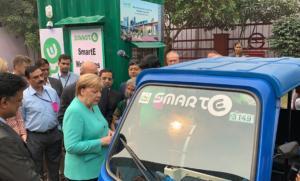 """Μέρκελ: """"Στόχος ένα εκατομμύριο σταθμοί φόρτισης ηλεκτρικών αυτοκινήτων""""!"""