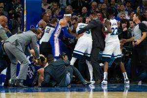 "NBA: Στα ""μαλακά"" έπεσαν Εμπίντ και Τάουνς μετά το… ξύλο!"