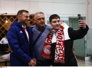 """Μπάγερν – Ολυμπιακός: Θερμό """"ερυθρόλευκο"""" καλωσόρισμα στο Μόναχο! pics"""