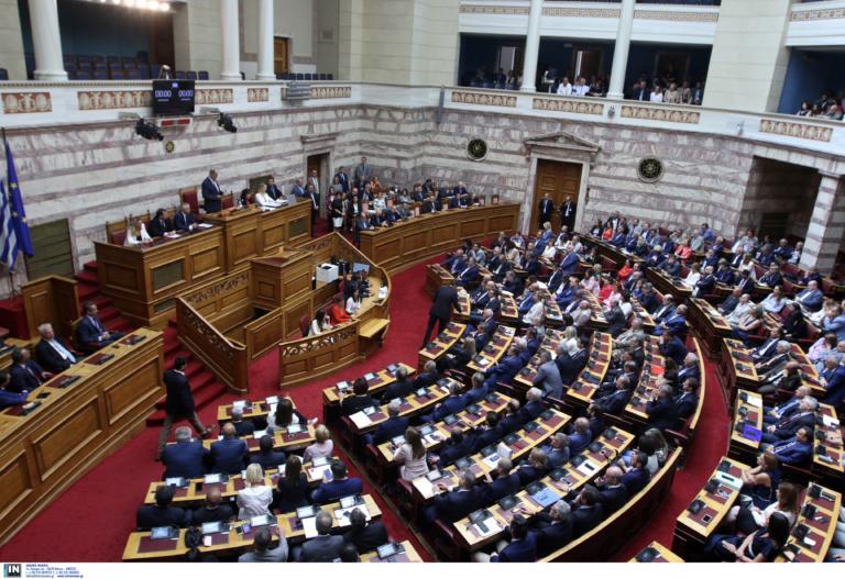 """Βουλή: Ποινική ευθύνη υπουργών και ψήφος των Ελλήνων του εξωτερικού στο """"μενού"""" της ολομέλειας"""