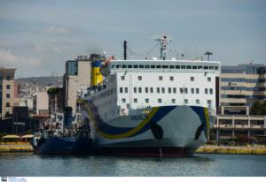 Πρόσκρουση του πλοίου «Πρέβελης» στο λιμάνι της Κάσου