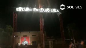 """Εμιλιάνο Σάλα: Η ονοματοδοσία του σταδίου και το συγκινητικό μήνυμα! """"Δεν υπάρχουν λόγια…"""" video"""