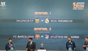 Super Cup Ισπανίας: Μόνο στον τελικό τα… λένε Ρεάλ και Μπαρτσελόνα!