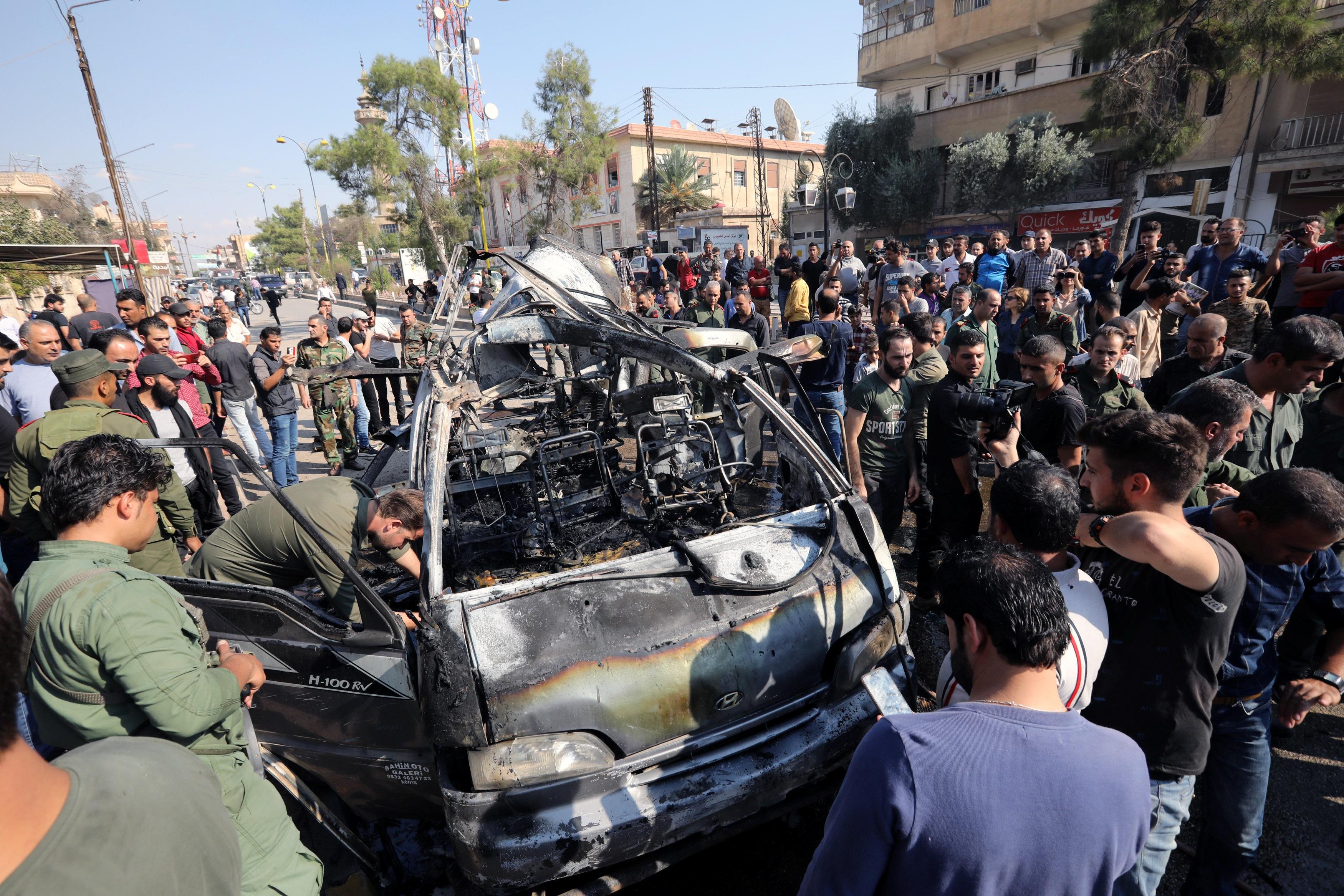 Συρία: Τουλάχιστον 15 νεκροί από έκρηξη παγιδευμένου αυτοκινήτου στην πόλη Τελ Αμπιάντ!