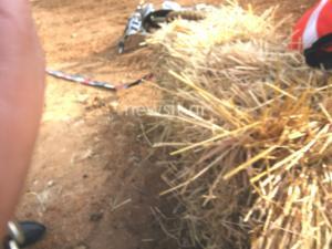 Δημοσιογράφος στην Σπάρτη κατέγραψε την στιγμή που πέφτει μηχανή επάνω του! [pics]