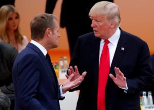 """Τουσκ: Ο Τραμπ είναι """"ίσως η πιο δύσκολη πρόκληση"""" που αντιμετωπίζει η Ευρώπη"""