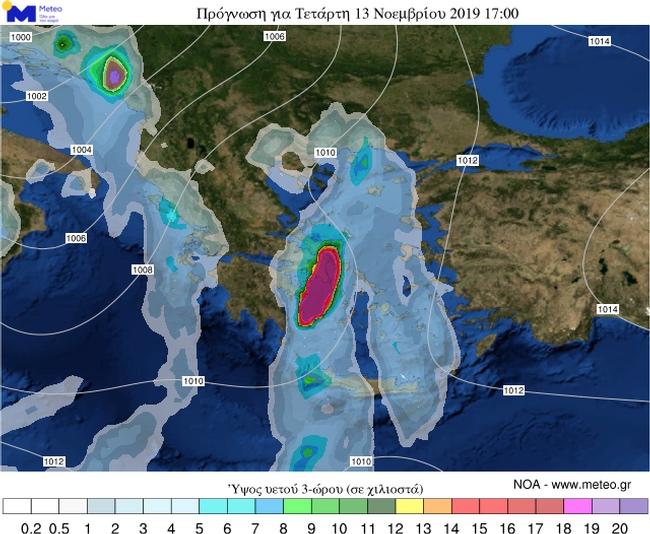 Η Βικτώρια σφυροκοπά την Ελλάδα! Συνεχίζονται τα έντονα φαινόμενα στην Αττική - Δείτε  πότε σταματάει η κακοκαιρία......