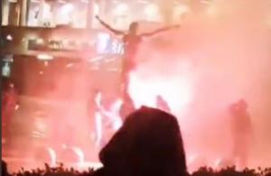 Οργή στο Μάλμε για Ιμπραΐμοβιτς! Φωτιά στο άγαλμα του Ζλάταν (video)