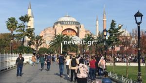 """Στο """"μυαλό"""" του Ερντογάν για την Αγιά Σοφιά [Pics, video]"""