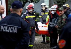 Σεισμός στην Αλβανία: Παιδιά 3 έως 15 ετών ανάμεσα στους 40 νεκρούς