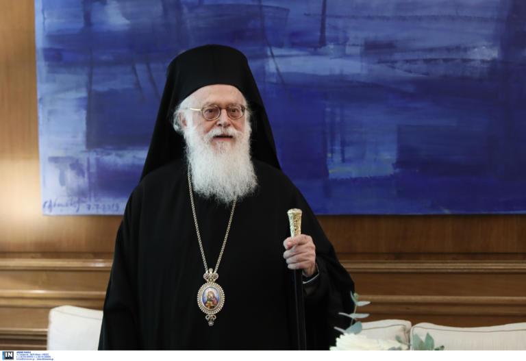 Αρχιεπίσκοπος Αναστάσιoς: Καθησυχαστική η Κοτανίδου για την πορεία της υγείας του
