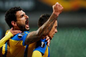 Europa League: Διπλό πρόκρισης για το ΑΠΟΕΛ! Τα αποτελέσματα της αγωνιστικής