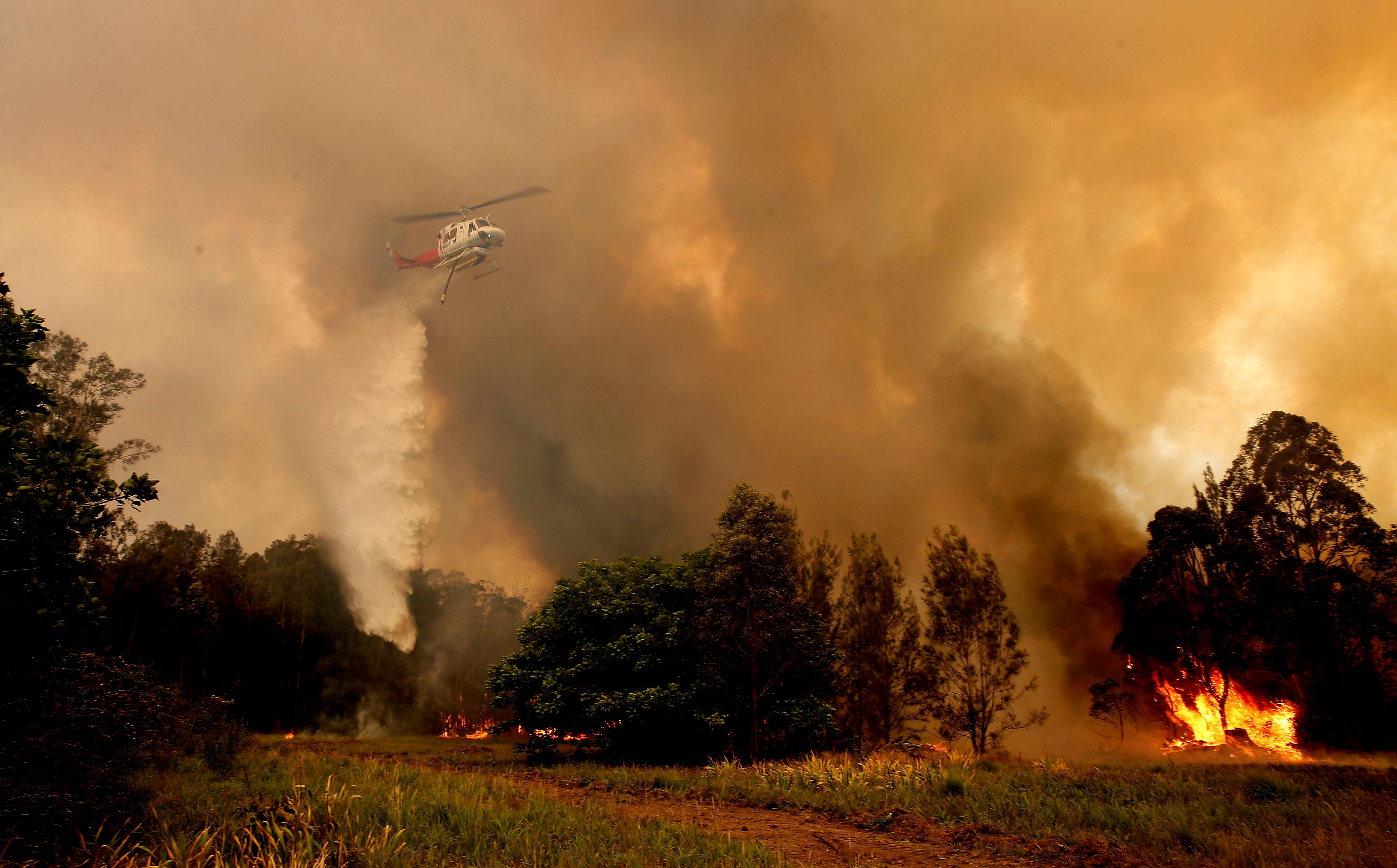Η Αυστραλία καίγεται! Τρεις νεκροί και τέσσερις αγνοούμενοι από τις φωτιές