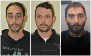 Επαναστατική Αυτοάμυνα: Αυτοί είναι οι δυο συλληφθέντες και ο καταζητούμενος