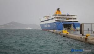 Δεμένο στη Νάξο μέχρι… νεοτέρας το Blue Star Naxos μετά την εισροή υδάτων στη Σχοινούσα! video