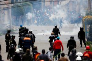 Χάος στη Βολιβία! Συνεχίζονται οι διαδηλώσεις μετά την παραίτηση Μοράλες